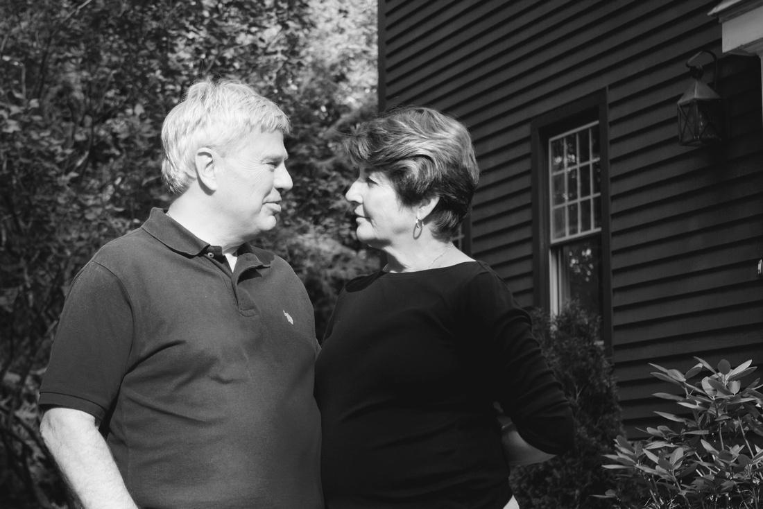 Husband - Wife   Saying good bye   Emotional Portraits {Natick - Amherst Family Photographer}